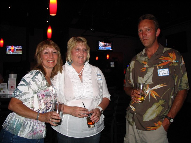 Jacque Johnson, Rosemary Goesch, Scott Berglund